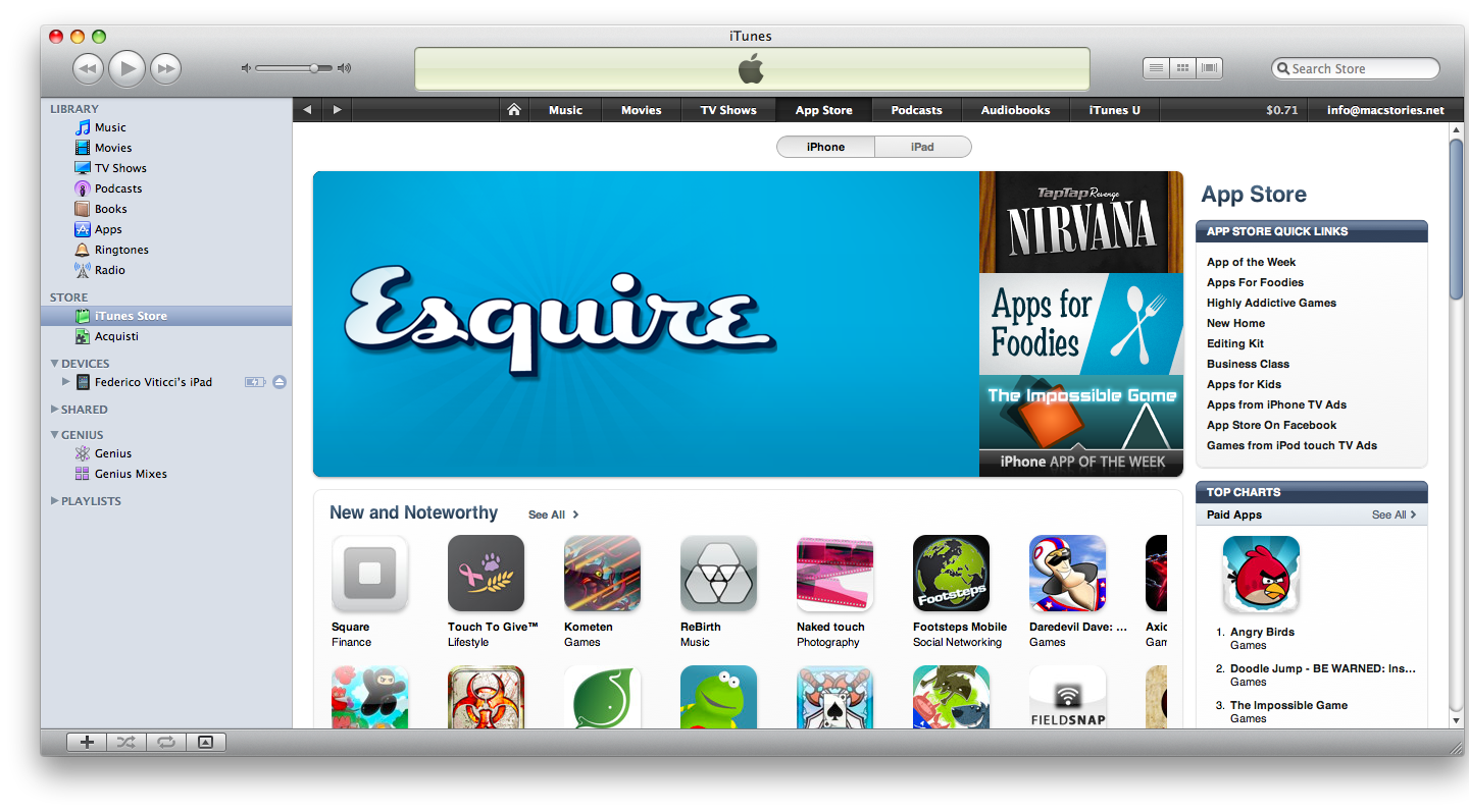 """Apple Introduces """"Apps for Foodies"""" Section in the App Store"""