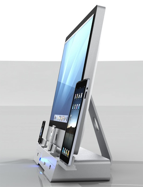 a docking station for your imac ipad and iphone macstories. Black Bedroom Furniture Sets. Home Design Ideas