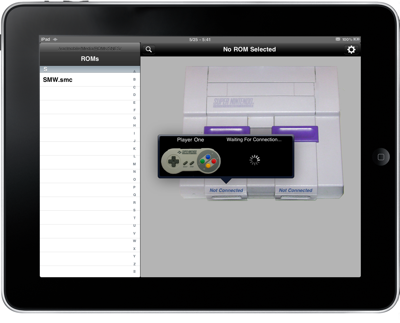 Snes HD, An IPhone Controlled Real Snes For IPad