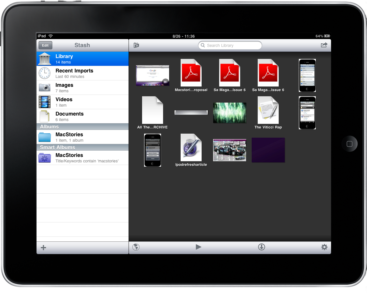 Stash: All-in-one Private Browser & File Manager for iPad