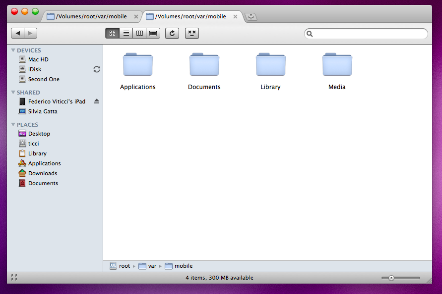 Don have write access for your itunes media folder empty